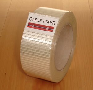 Супер-липкий скотч Cable Fixer